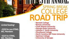 Spring Break College Road Trip 2019