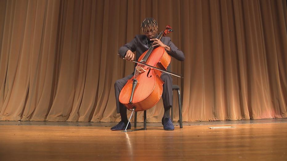 Kahlil Payne - cellist