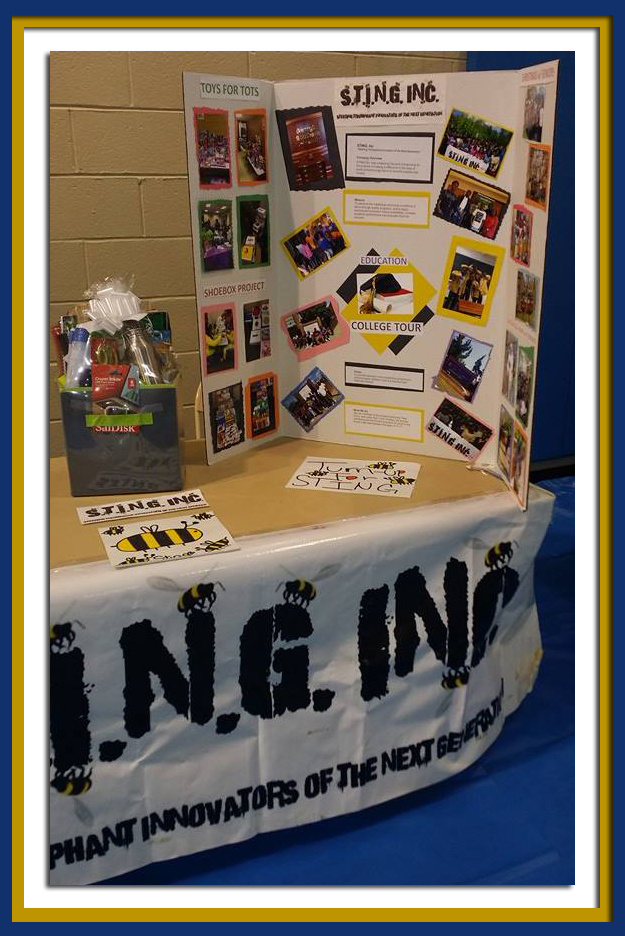 Sting Inc. Poster Table
