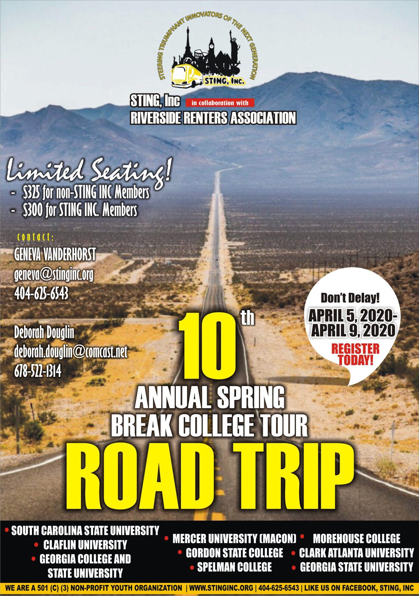College Road Trip 2020