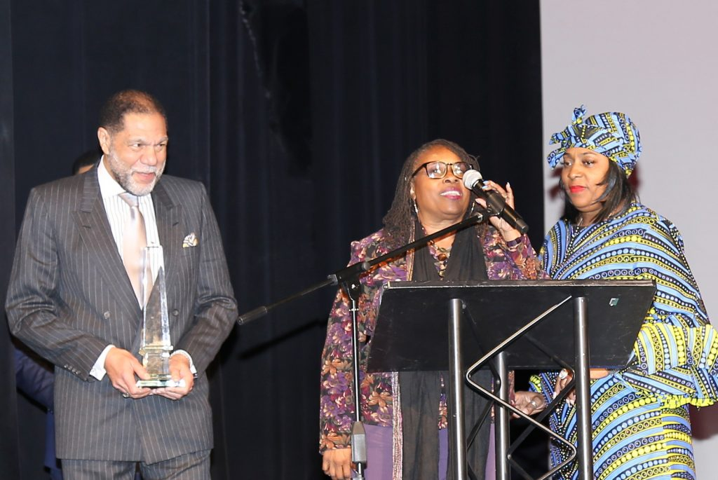 "Winner of the 2020 Cobb NAACP ""MLK Living The Dream Award"""